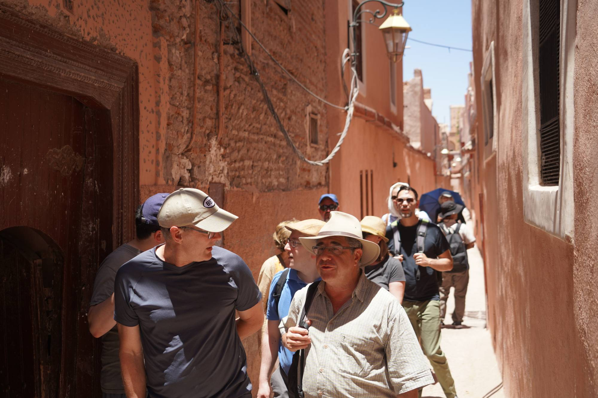 sightseeing in Marrakech